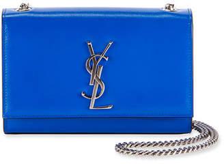 dedf25573 Saint Laurent Kate Monogram Small Neon Leather Crossbody Bag