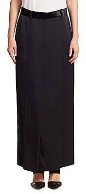 Brunello Cucinelli Women's Slit Maxi Skirt