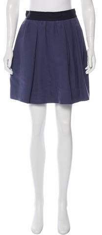 3.1 Phillip Lim 3.1 Phillip Lim A-Line Mini Skirt