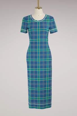 Fendi Short-sleeved long dress