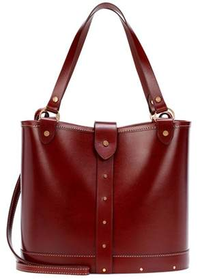 The Row Leather bucket bag