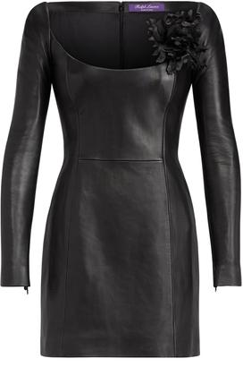 Ralph Lauren Charlotta Leather Dress