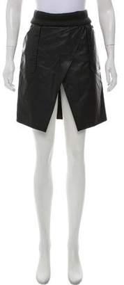 Karl Lagerfeld by Asymmetrical Knee-Length Skirt