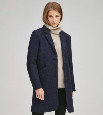 Andrew Marc PAIGE PRESSED BOUCLE COAT
