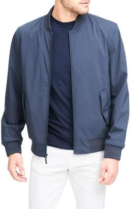 Andrew Marc Flap Pocket Franklin Bomber Jacket