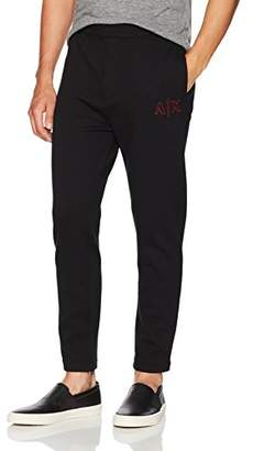 Armani Exchange A|X Men's Drop Crotch Sweatpants