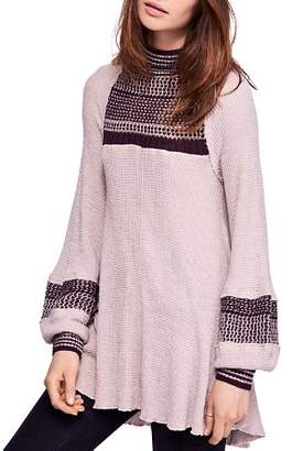 Free People Snow Day Thermal Tunic Top