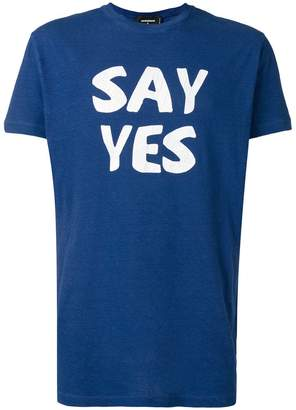 DSQUARED2 Say Yes T-shirt