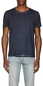 ATM Anthony Thomas Melillo Men's Pigment-Dyed Cotton T-Shirt - Blue