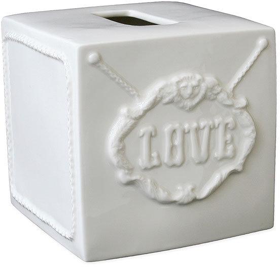 Jonathan Adler 'Druggist' Ceramic Tissue Box Cover