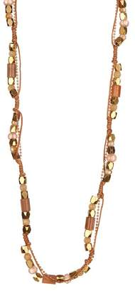 Panacea Moonstone Rope Strand Necklace