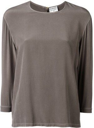 Chanel Pre-Owned straight-fit blouse
