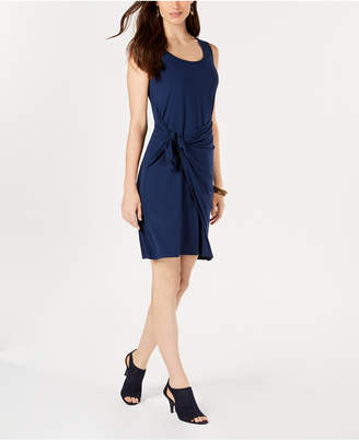 Style&Co. Style & Co Sleeveless Tie-Front Dress