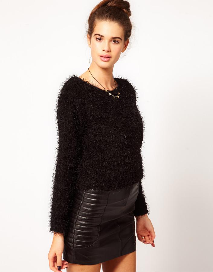 River Island Chelsea Girl Fluffy Sweater