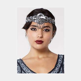 Gatsbylady London Charleston Flapper Embellished Wedding Headband