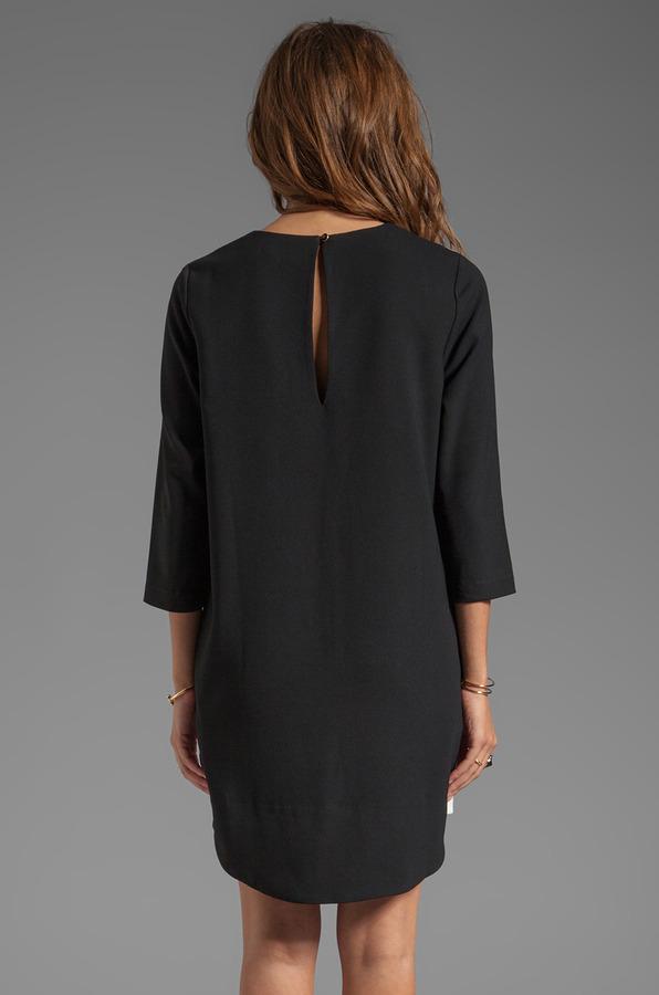 Blaque Label Color Blocked Dress
