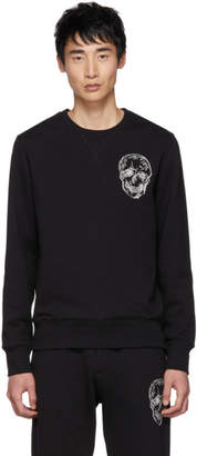 Alexander McQueen Black Mix Sweatshirt