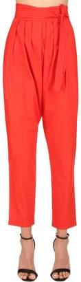 Philosophy di Lorenzo Serafini High Waist Cotton Pants