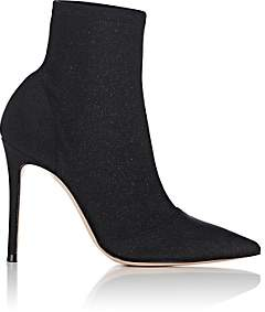 Gianvito Rossi Women's Tech-Knit Ankle Boots - Black