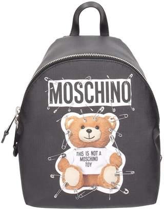 Moschino Teddy Transformer Small Backpack