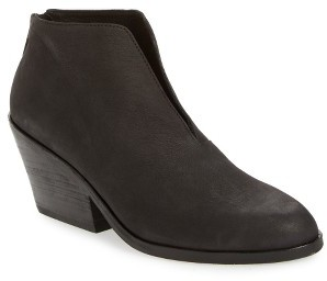 Women's Eileen Fisher Nelson Split Shaft Block Heel Bootie $250 thestylecure.com