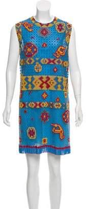 Valentino Bead Embellished Mini Dress w/ Tags