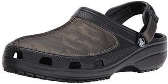 4993ffc68297 Crocs Men s Yukon Mesa Camo Clog M Mule Black