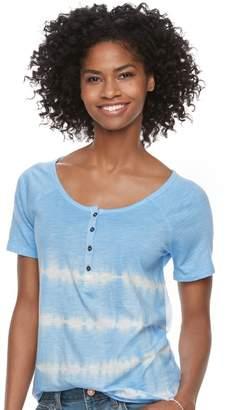 Sonoma Goods For Life Women's SONOMA Goods for Life Raglan Henley Tee