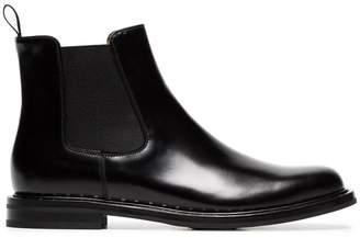 Church's black leather Nirah studded boots
