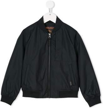 Woolrich Kids long sleeve bomber jacket
