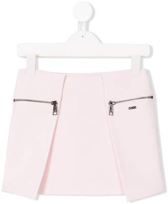 Karl Lagerfeld asymmetric mini skirt