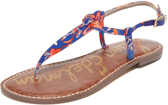 Sam Edelman Gigi Floral Printed Sandals $60 thestylecure.com