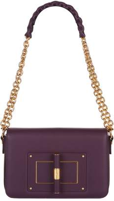 Tom Ford Large Leather Natalia Shoulder Bag