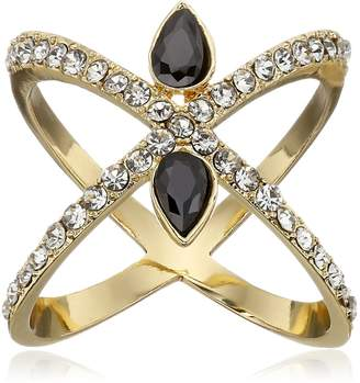 Jules Smith Designs Criss Cross with Bling Ring, Size 8