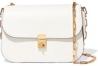 Valentino - Leather Shoulder Bag - White $2,295 thestylecure.com