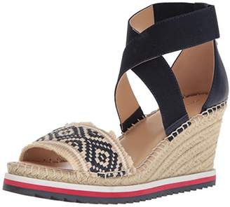 Tommy Hilfiger Women's YEMINA Espadrille Wedge Sandal,10 Regular US