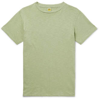 Velva Sheen Slub Cotton-Jersey T-Shirt