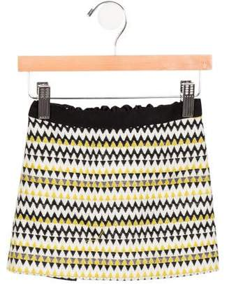 Milly Minis Girls' Wool Skirt