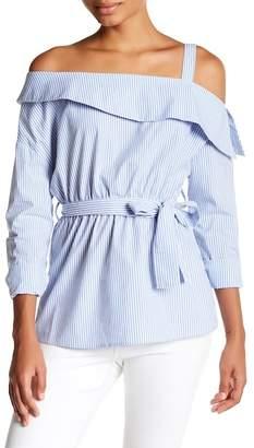 Romeo & Juliet Couture ROMEO &JULIET COUTURE One-Shoulder Collar Blouse