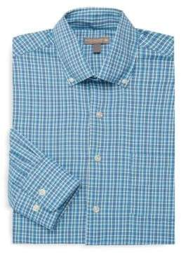 Peter Millar Barber Performance Check Dress Shirt