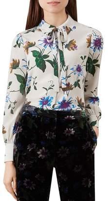 Hobbs London Passionflower Silk Blouse