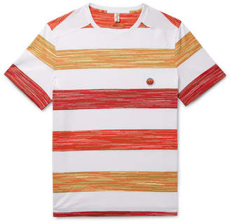Missoni Space-Dyed Striped Cotton T-Shirt
