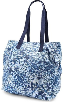 Volcom 'Paradise' Print Cotton Canvas Tote $49 thestylecure.com