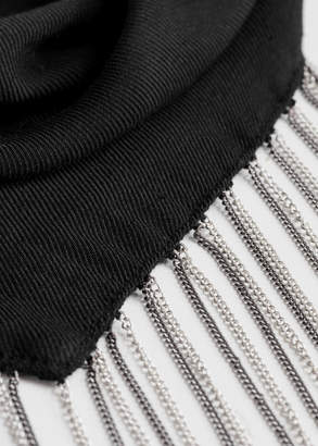 Chain Bandana Neck Tie