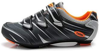 TieBao Road Cycling Shoes Lock Pedal Bike Shoes Cleated Bicycle Ciclismo Shoes 41