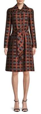 Etro Jacquard Trench Topper