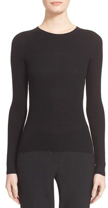 Women's Michael Kors Crewneck Cashmere Sweater $595 thestylecure.com