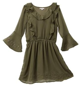 Ella Moss Bell Sleeve Dress (Big Girls)