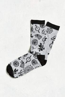 Urban Outfitters Game of Thrones Sigils Sock