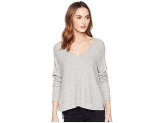 Three Dots Myra V-Neck Sweater